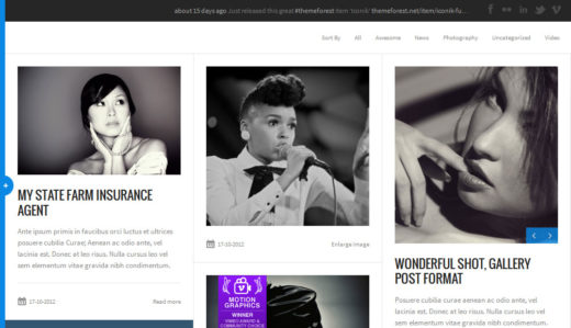 Iconik - Full Experience WordPress Theme