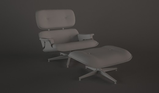 Model a Stylish Eames Lounge Chair In 3ds Max