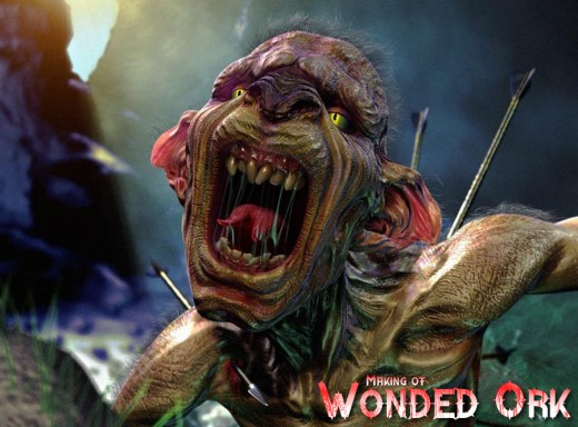 The Making of Wonded Ork