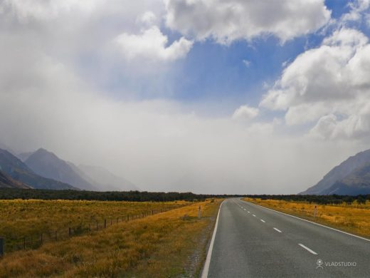 The Road to Aoraki