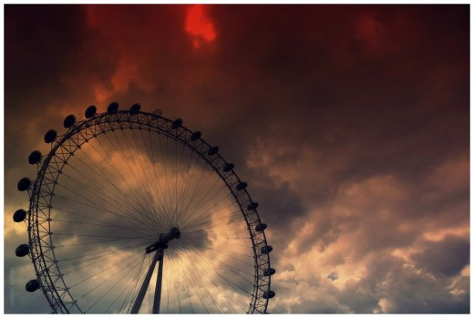 Awesome Ferris Wheel Photography