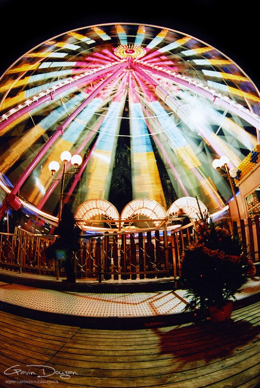 Ferris Wheel Fish-Eye