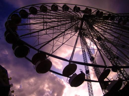 Ferris Wheel by Konchuuchan