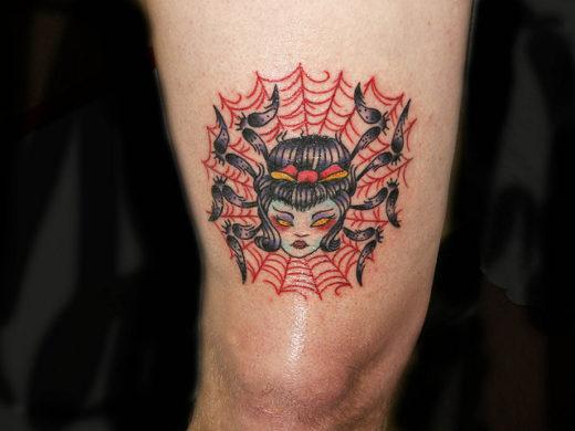 Spider Woman Tattoo