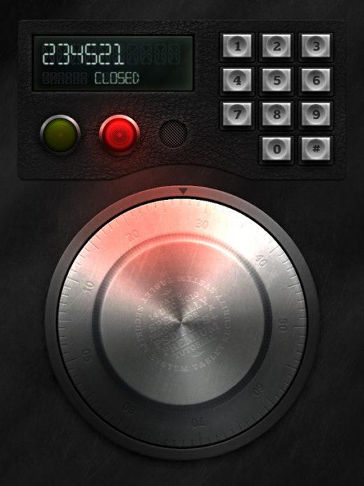 Create a Retro Electronic Safe Lock Interface