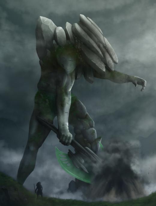 Earth Colossus by Bone-Fish14
