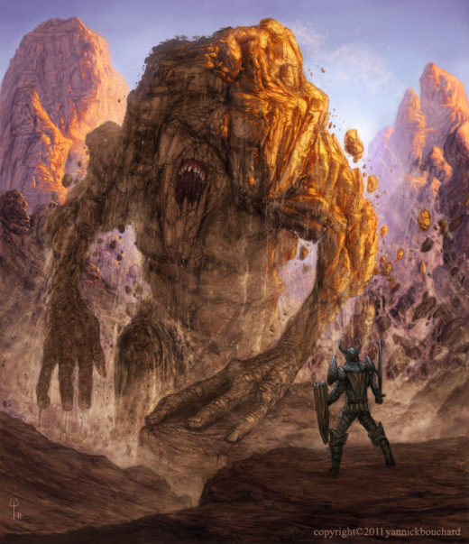 Earth Colossus by YannickBouchard