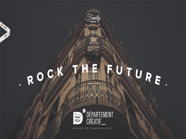 departement-creatif - Typography Inspiration Websites