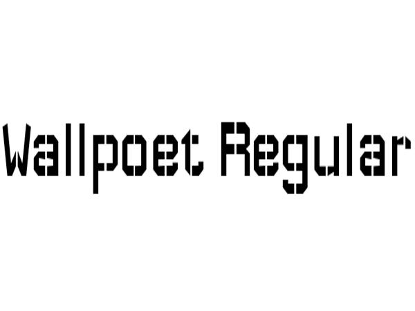 wallpoet-font